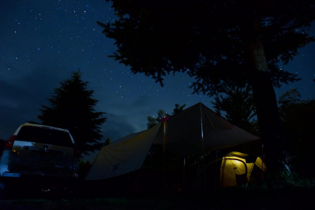 うるぎ星の森での星空