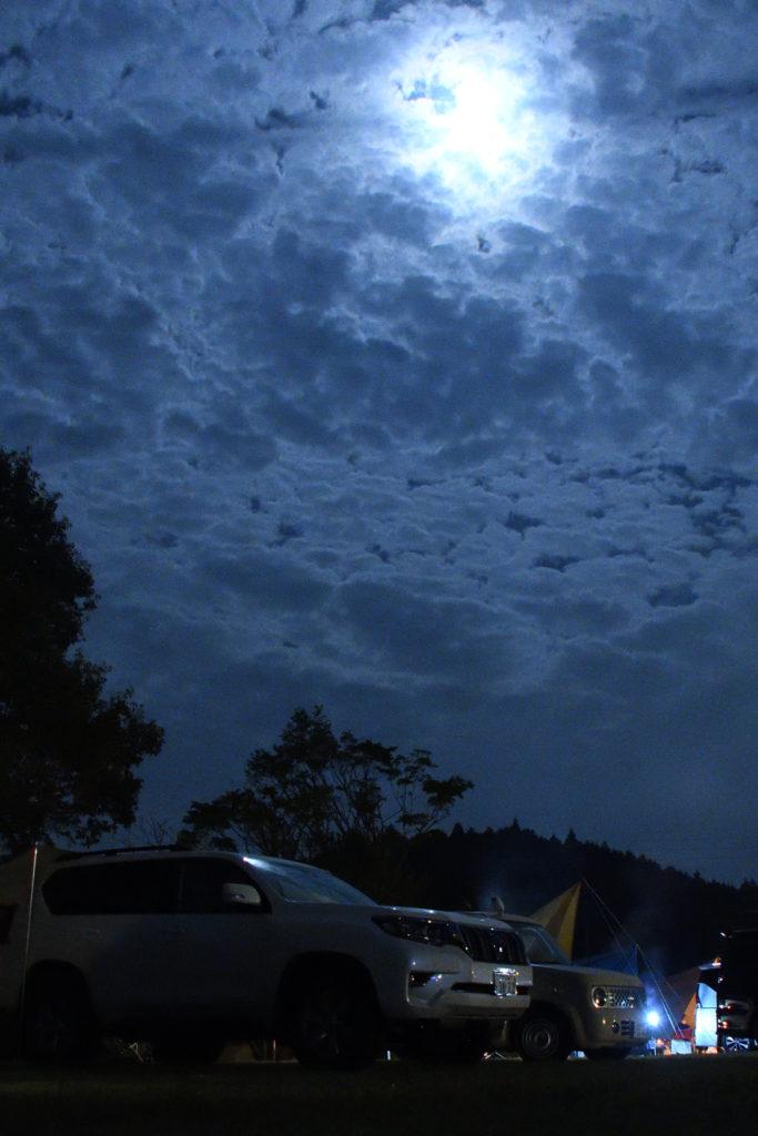 三河高原キャンプ村の夜