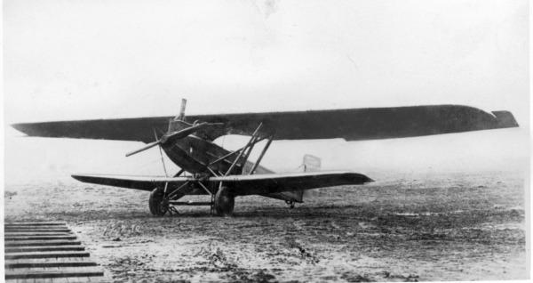 ジュラルミンを使った最初期の飛行機(ユンカース)