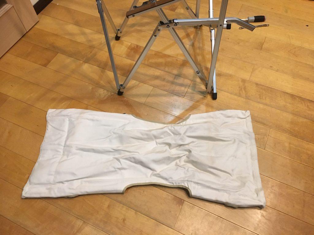 ogawaハイバックチェアコットンのカバーを洗濯