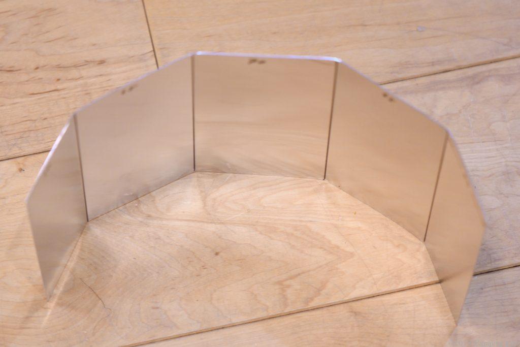 自作したフジカハイペットの反射板