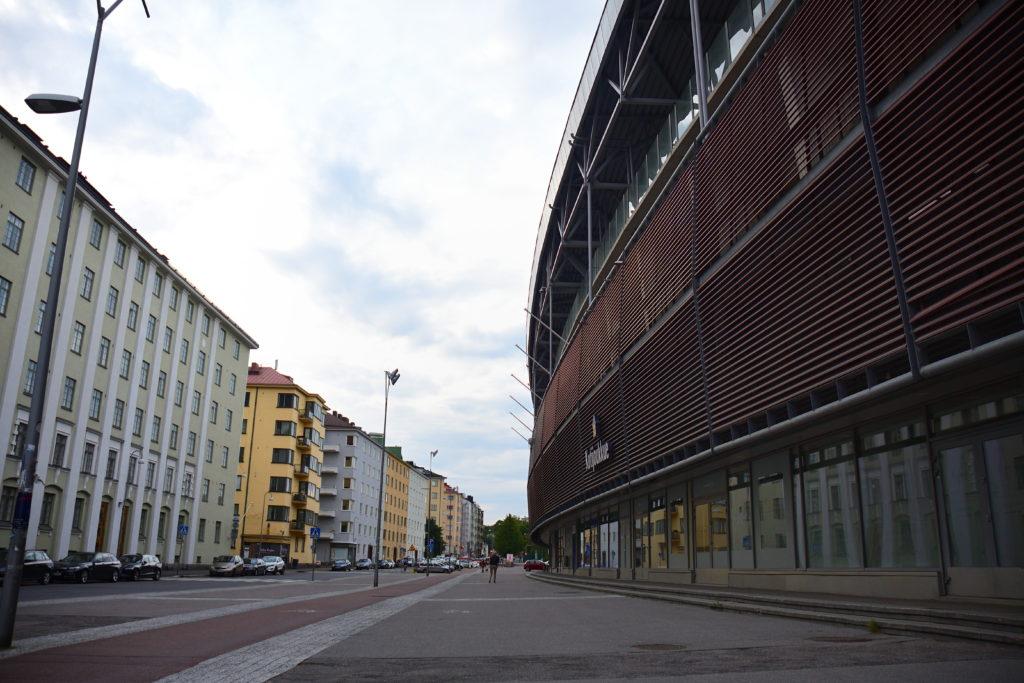 ヘルシンキのオリンピックスタジアム