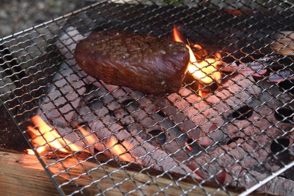 じっくりお肉を焼いてみた