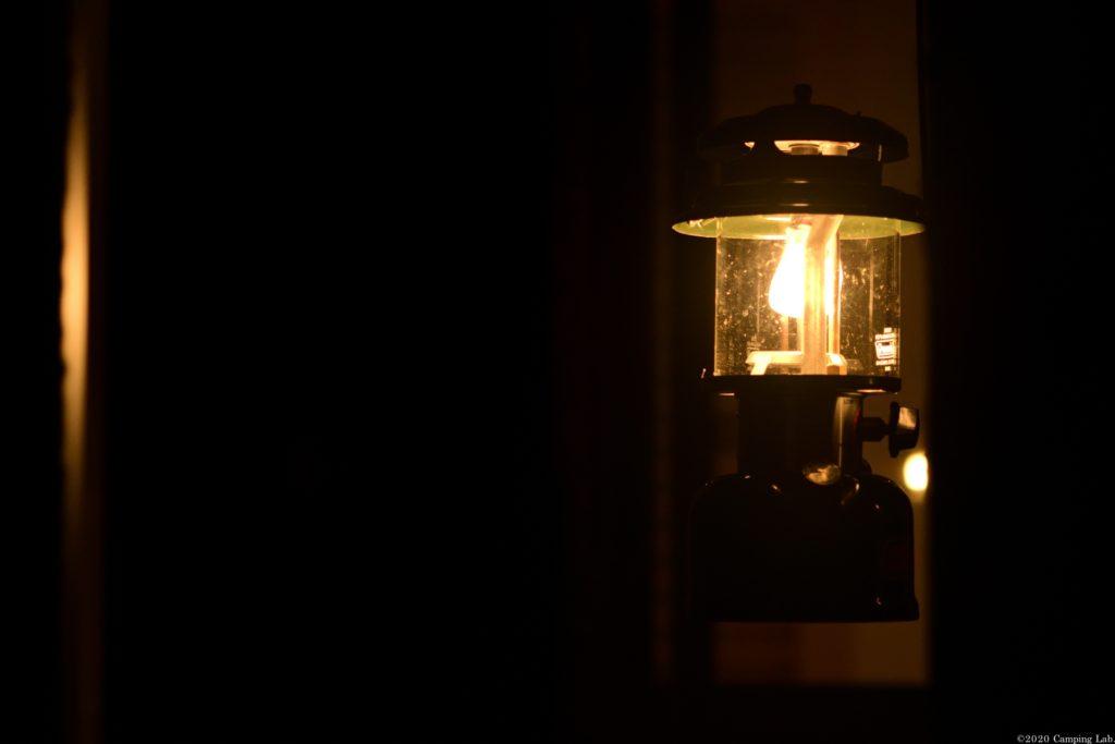 ランタンの燃焼音