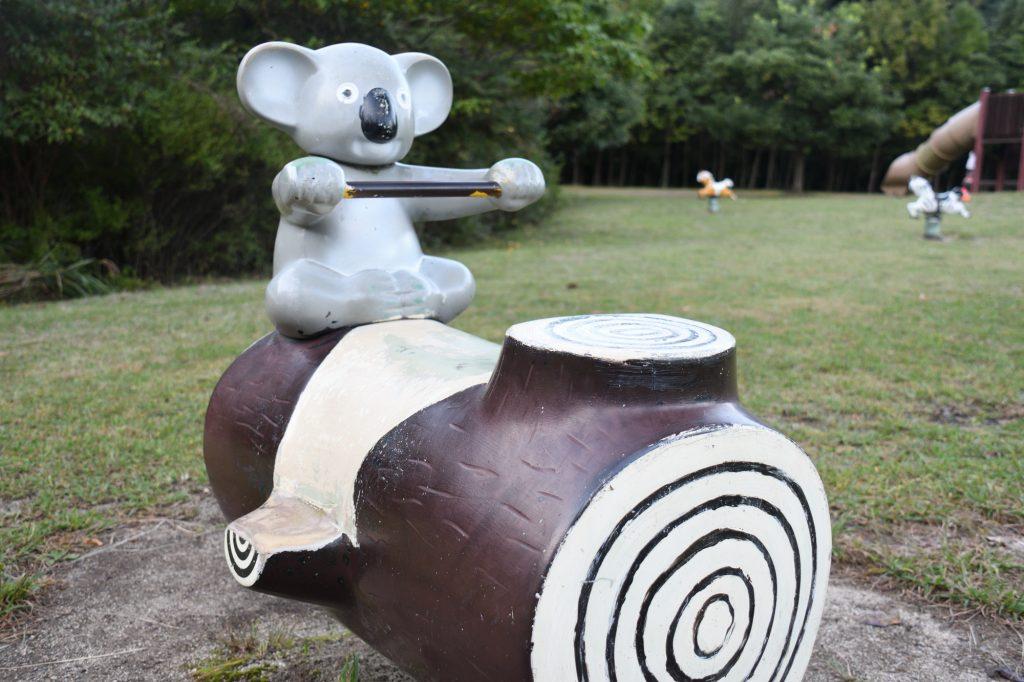 青川峡キャンピングパークのコアラ