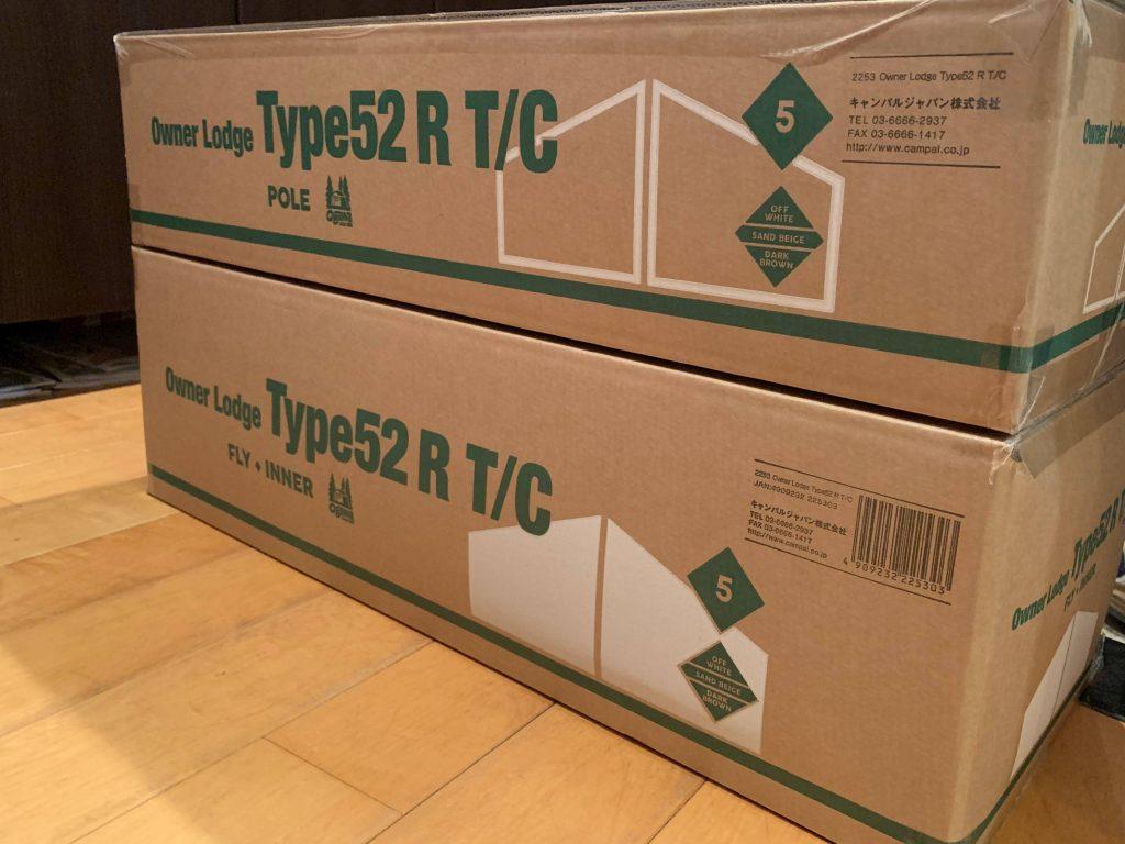 オーナーロッジタイプ52R T/Cを購入